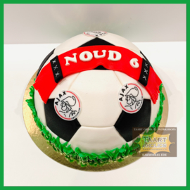 Voetbal 3D voor 12 personen