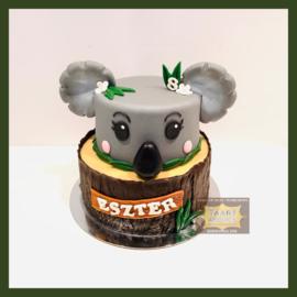 Koala taart 16 personen