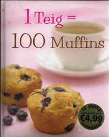 1 Teig = 100 Muffins