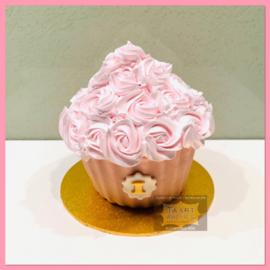 Smash Giant Oud Roze Cupcake