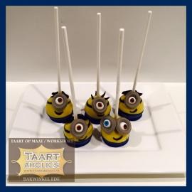 CakePop Minions 12 stuks