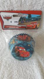 Disney Pixar Cars Cupcake vormpjes - 60 stuks