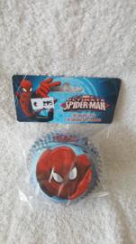 Spiderman Cupcake vormpjes - 60 stuks