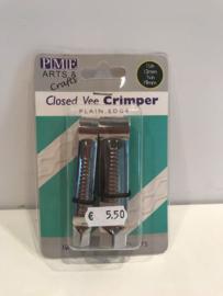 PME Closed Vee Crimper - rechte lijn - CV303