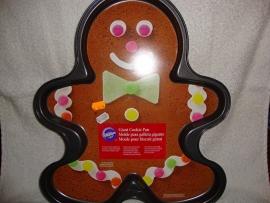 Cookie Bakvorm Peperkoekmannetje Gingerbread Wilton 2105-059