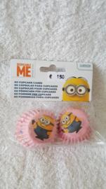 Minions Mini Cupcake vormpjes 60 stuks