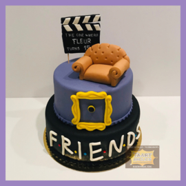 Friends taart 16 personen
