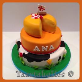 Hollandse taart 24 personen 3 lagen