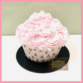 Smash Giant Luipaard Cupcake