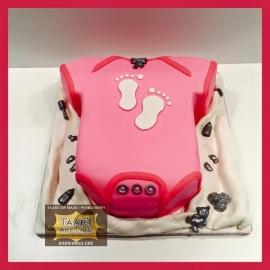 Romper taart 3D voor 16 personen