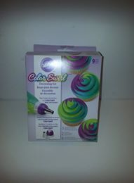 Color swirl decorating set Wilton 2104-7072 - 9 delig