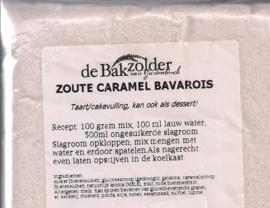 Zoute Caramel bavarois - De Bakzolder - 100 gram