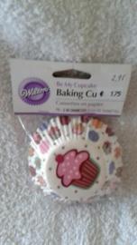 Cupcake vormpjes cupcakes 75 stuks Wilton - 415-127