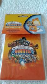 Skylanders Giants Uitnodigingen - 8 stuks
