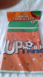 Voetbal tafelkleed hup Holland - 112 x 180 cm