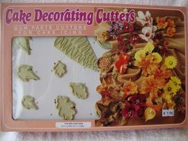 Blaadjes uitstekerset 40 delig - JEM Three set - Leaf Cutters