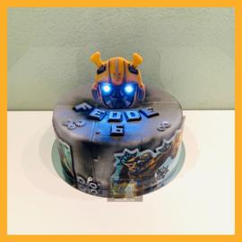 Transformer taart 10 personen
