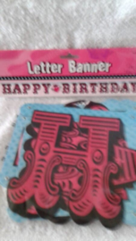 Happy Birthday Letter Banner - 219 cm
