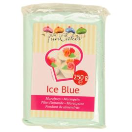 FunCakes Marsepein Blauw -Ice Blue 250 gram