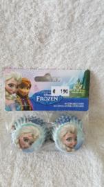 Disney Frozen Mini Cupcake vormpjes 60 stuks