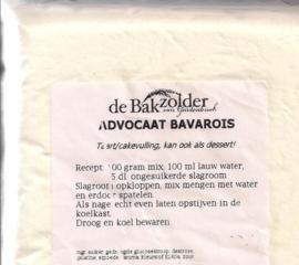 Advocaat bavarois - De Bakzolder - 100 gram