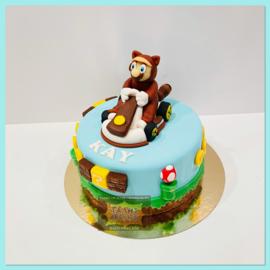 Mario beer kart taart 10 personen
