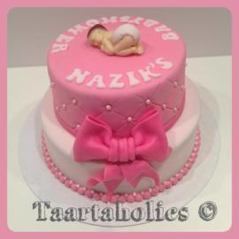 Baby taart 16 personen