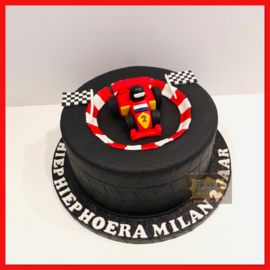 Formule 1 taart 10 personen