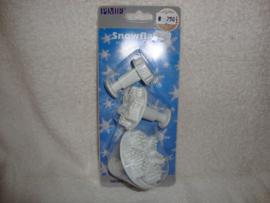 Sneeuwsterren (3stuks) (Frozen) Plunger PME - SF708