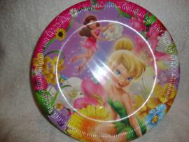 Tinkerbell borden 8 stuks