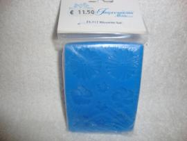 First Impressions siliconen mal Bloemen set FL312