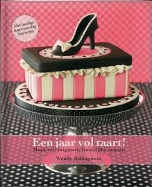 Een jaar vol taart! door Wendy Schlagwein