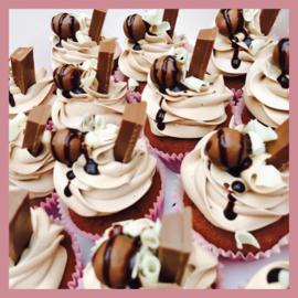 Cupcakes Chocobom 6 stuks