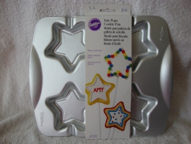Star Pops Cookie Pan - Wilton 2105-0538