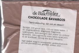 Chocolade bavarois - De Bakzolder - 100 gram