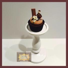 Cupcakes Chocolate Bom 6 stuks