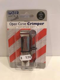 PME Open Curve halve rondjes Crimper - gekartelde rand - OC310