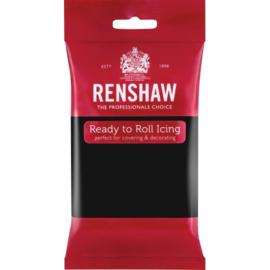 Fondant Black - Renshaw 250gram