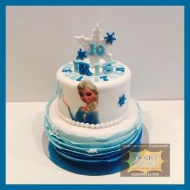 Elsa taart 16 personen
