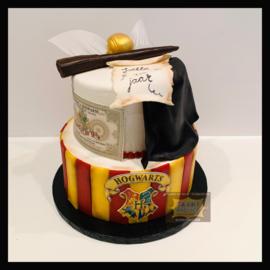 Harry Potter taart 16 personen