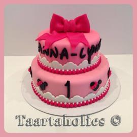 Minnie Mouse taart 16 personen
