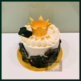 Smash Cake Kroon taart