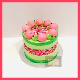 Meloen Fault Line taart 10 personen