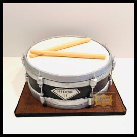 Drum taart 3D voor 16 personen