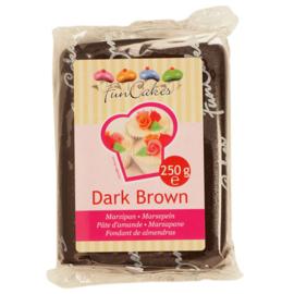 FunCakes Marsepein Bruin -Dark Brown 250 gram