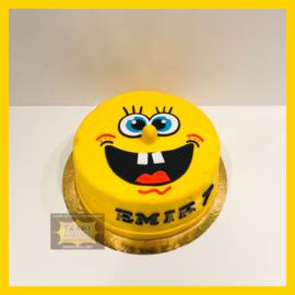 Sponge Bob taart 10 personen
