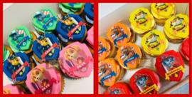 Cupcakes Paw Patrol 6 stuks