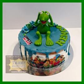 Muppets Driptaart 10 personen