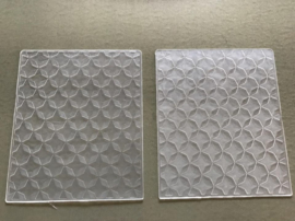 EchoParkPaper - Quilted Star - Reliëf / Embossing