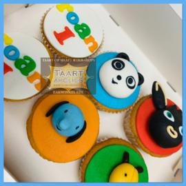 Cupcakes Bing 6 stuks